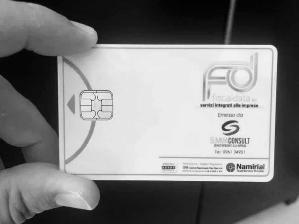 Smart card o Carta Nazionale dei Servizi